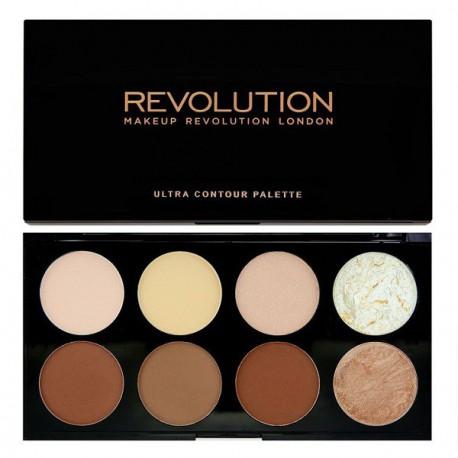 Makeup-Revolution-Ultra-Contour-Palette-paleta-pudrów-do-konturowania-konturowanie-twarzy-drogeria-internetowa-puderek.com.pl