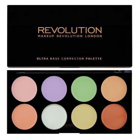Makeup-Revolution-Ultra-Base-Corrector-Palette-paleta-korektorów-drogeria-internetowa-puderek.com.pl