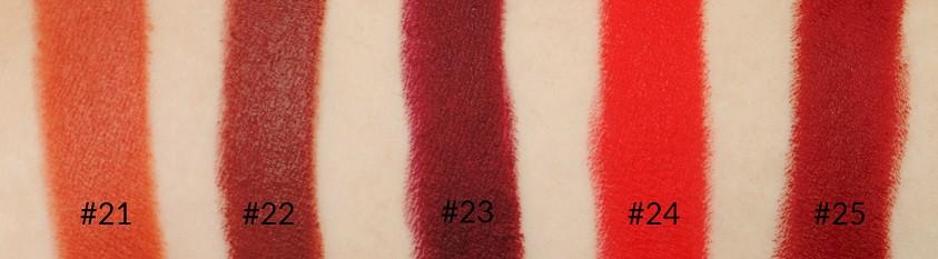 Golden Rose Velvet Matte Lipstick 22 matowa pomadka