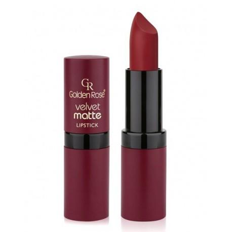 Golden-Rose-velvet-Matte-Lipstick-25-matowa-pomadka-drogeria-internetowa-puderek.com.pl