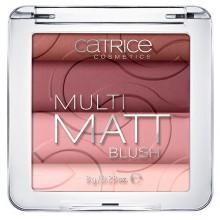 Catrice Multi Matt Blush 020 La-Lavender wielobarwny matowy róż