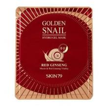 Skin79-Golden-Snail-Hydro-Gel-Mask-Red-Ginseng-żelowa-maska-z-czerwonym-żeń-szeniem-koreańskie-kosmetyki-drogeria-internetowa-pu