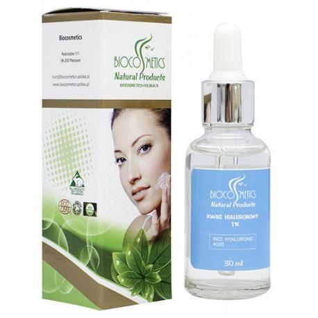 Biocosmetics-kwas-hialuronowy-1%-szklana-butelka-30-ml