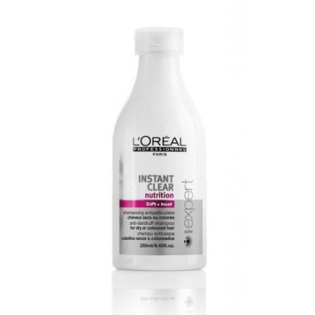 Loreal-Expert-Instant-Clear-Nutrition-szampon-przeciwłupieżowy-do-włosów-suchych-i-farbowanych-250-ml-drogeria-internetowa-puder