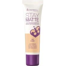 Rimmel-Stay-Matte-100-Ivory-podkład-matujący-drogeria-internetowa