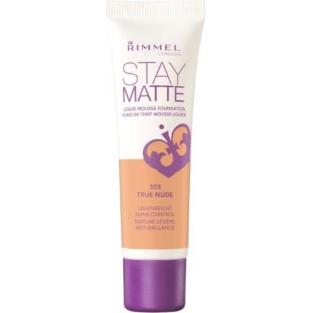 Rimmel-Stay-Matte-303-True-Nude-podkład-matujący
