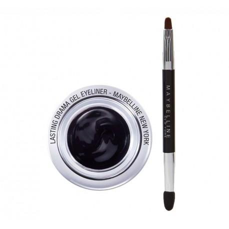 Maybelline Eyestudio Lasting Drama Gel Liner 24h żelowy eyeliner 01 Intense Black