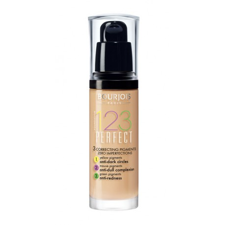 Bourjois-123-Perfect-Foundation-54-Beige-podkład-drogeria-internetowa