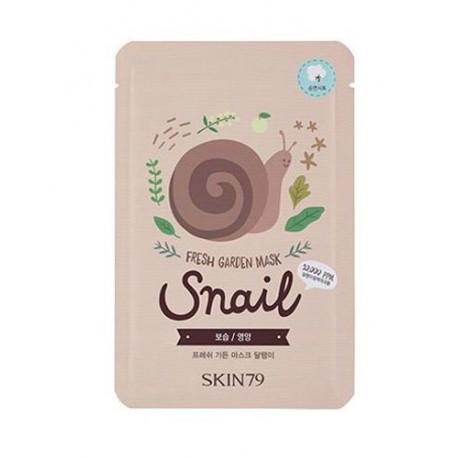 Skin79-Fresh-Garden-Mask-Snail-maska-w-płacie-z-ekstraktem-ze-śluzu-ślimaka-koreańskie-kosmetyki-drogeria-internetowa-puderek.co