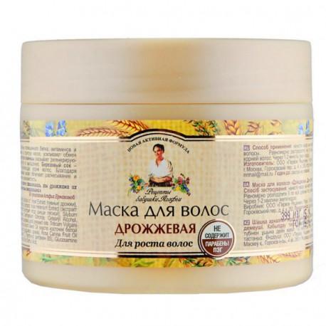 Receptury-Babuszki-Agafii-Drożdżowa-maska-do-włosów-stymulująca-wzrost-300-ml