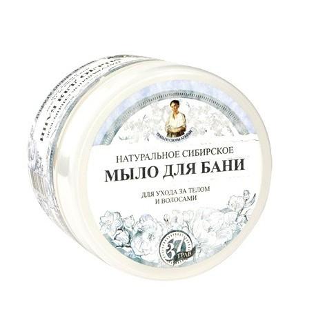 Receptury Babuszki Agafii Syberyjskie białe mydło do włosów i ciała 500 ml