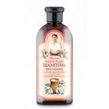 Receptury Babuszki Agafii szampon do włosów suchych i farbowanych - Zsiadłe mleko i mydlnica lekarska 350 ml