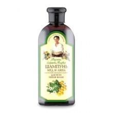 Receptury Babuszki Agafii szampon do wszystkich typów włosów miód i lipa 350 ml