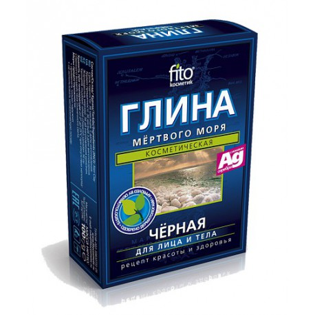 Fitokosmetik-czarna-glinka-z-Morza-Martwego-z-jonami-srebra-2-x-50-g