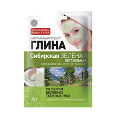 Fitokosmetik-zielona-glinka-Syberyjska-odżywcza-z-ziołami-tonizująca-75-g