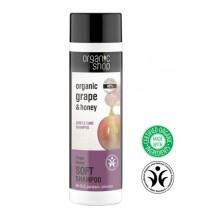 Organic-Shop-Eco-szampon-do-włosów-Miód-i-Winogrona-delikatna-pielęgnacja-280-ml