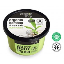 Organic Shop Body Polish peeling do ciała Tropikalny Bambus 250 ml