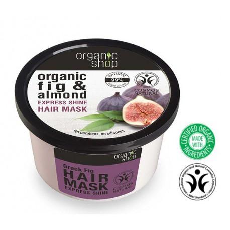 Organic-Shop-Eco-maska-do-włosów-Grecka-Figa-Ekspresowy-blask-250-ml