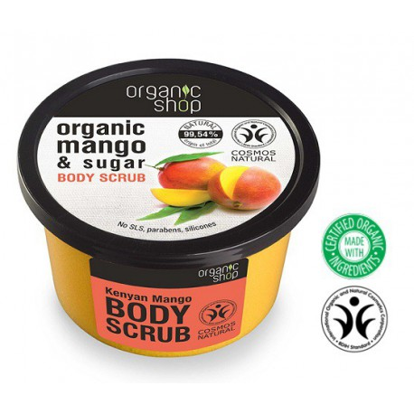 Organic-Shop-Body-Scrub-peeling-do-ciała-Kenijskie-Mango-250-ml
