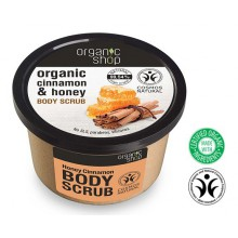 Organic Shop Body Scrub peeling do ciała miodowy cynamon 250 ml