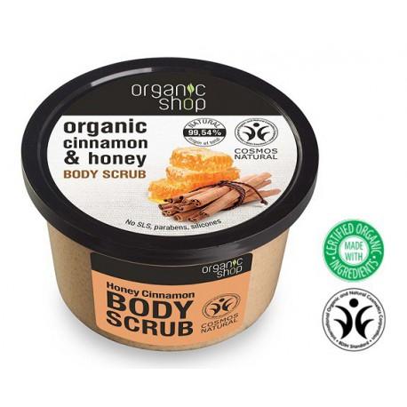 Organic-Shop-Body-Scrub-peeling-do-ciała-miodowy-cynamon-250-ml