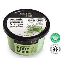 Organic-Shop-Body-Scrub-peeling-do-ciała-Prowanalskie-trawy-250-ml