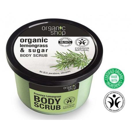 Organic Shop Body Scrub peeling do ciała Prowansalskie trawy 250 ml