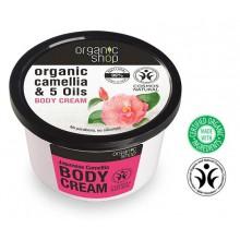 Organic Shop Eko krem do ciała - Japońska Kamelia 250 ml