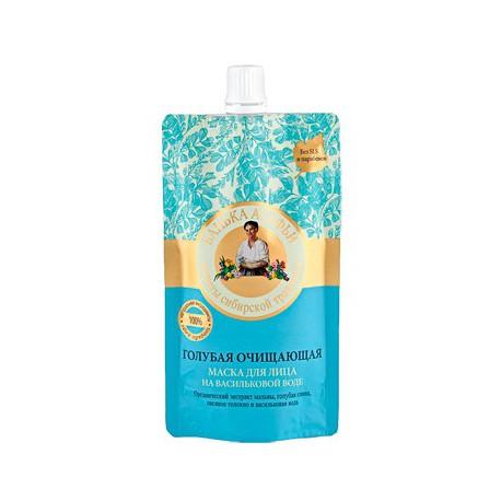 Babuszka-Agafia-Niebieska-maseczka-do-twarzy-oczyszczająca-100-ml