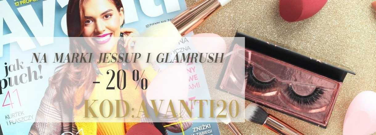 Promocja w AVANTI -20% na Jessup i GlamRush - drogeria internetowa Puderek.com.pl